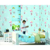 Buy cheap Chinese Wallcovering Wholesaler Cartoon Design PVC Wallpaper Kids Bedroom Decor from wholesalers