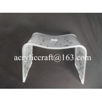 Buy cheap Custom Color Printing Acrylic Furniture, Transparent Dining Chair from wholesalers