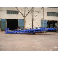 Buy cheap 8000Kg manual mechanical durable Loading Dock Ramp from wholesalers