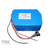 Buy cheap 12V LiFePO4 Battery Pack  f'or Street Lamp  IFR 26650 50ah With Connector from wholesalers