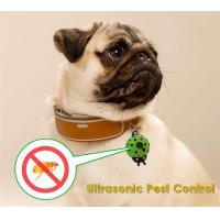 Buy cheap Dog Cat Pet's Ultrasonic Insect Repellen Electronic Flea small size Mini pet collar from wholesalers