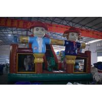 Buy cheap Scarecrow Themed PVC Bouncy Castle , Inflatable Farm Fun Kids Bounce House from wholesalers