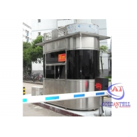 Buy cheap Mobile Prefabricated grade 8.3 Security Guard House Parking Booth from wholesalers