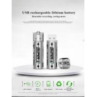 Buy cheap USB rechargeable lithium battery, Reusable recycling, saving more from wholesalers