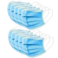 Buy cheap Anti Virus 3 Ply Surgical Face Mask High Filtration Efficiency  Soft Lining product