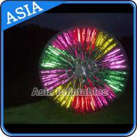 Buy cheap Popular Inflatable Zorb Ball , Glow Zorb Ball , Fluorescent Roller Ball from wholesalers