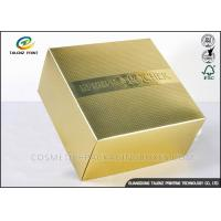 Buy cheap Luxury CMYK Cosmetic Gift Box , Product Packaging Boxes Embossing Textured product