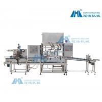 Buy cheap Adhesive Auto Bottle Filling Machine High Filling Precision For Low Viscosity Liquid product