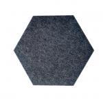 Buy cheap Hexagon EN 13501-B Length 150mm Acoustic Wall Panels from wholesalers