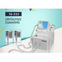 Buy cheap Portable Cryolipolysis Slimming Machine 2 Handles Cool Body Sculpting Fat Freezing Machine from wholesalers