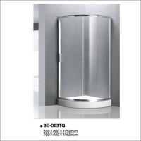 Buy cheap Bathroom Shower Enclosures With Sliding Doors , Glass Shower Stalls CE Certified from wholesalers