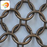 Buy cheap Decorative looped ring mesh High Trade assurance Has adopted ISO Certificate from wholesalers