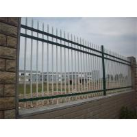 Buy cheap PVC Coated Metal Balcony Railings , Zinc Steel Fence For Raiway / Highway from wholesalers