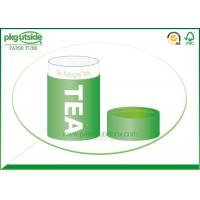 China Food Grade Green Tea Tube Packaging Handmade High End Environmentally Friendly on sale
