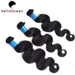 Smooth No Chemical Brazilian Virgin Hair / Body Wave Hair Weft No Splits