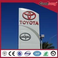 Buy cheap High quality! Weather Proof Acrylic Car Brand Logo Names pylon from wholesalers
