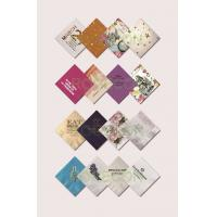 Buy cheap Colorful Restaurants Disposable Printed Paper Napkins 16Gsm / 18Gsm from wholesalers