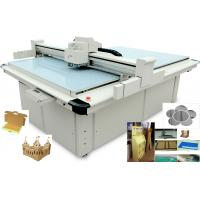 Buy cheap 30mm CNC Carton Box Cutting Machine Optional Router With Variable Oscillating Control from wholesalers