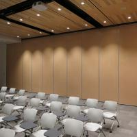 Buy cheap Hotel Rolling Mobile Partition Wall / Acoustic Movable Soundproof Partition Wall from wholesalers