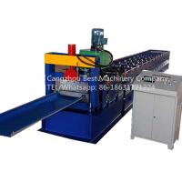 Buy cheap Strip Roofing Sheet 620mm Self Lock Profile Roll Forming Machine With Seaming Machine from wholesalers