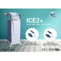 Buy cheap Beauty Salon 10Hz Fast Hair Removal SHR Hair Removal CE Approved With 2 Handpieces product