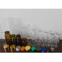 Buy cheap Amber Little Glass Vials 10mL Bottle 22mm Wide 50mm Tall With Dropper Sealing from wholesalers