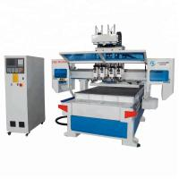 Buy cheap Automatic 3d Wood Cnc Machine For Cutting Plywood 4*8ft Cnc Router 1325 from wholesalers