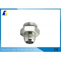 Buy cheap Precision CNC Machined Stainless Steel Threaded Rod Couplers Pipe Fitting Hex Adaptor from wholesalers