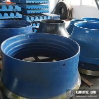 Buy cheap CE Sand Casting Cone Crusher Parts Bowle with Electric Drive product