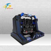 Buy cheap Unique 9d Virtual Reality Simulator , 100% Earn Money Blue Super Pendulum VR product