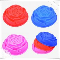 Buy cheap Professional romantic rose / heart Silicone Cake Moulds for kitchen tools product