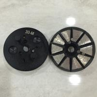 Buy cheap 10 Triangles Segments Diamond Metal Concrete polishing disc 4 Holes Expoxy Floor Grinding Tools for concrete floor from wholesalers