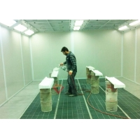 Buy cheap Wood Finishing TUV Furniture Spray Booth for Wood Paint Factory from wholesalers