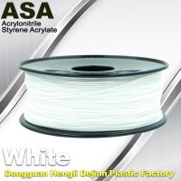 Buy cheap ASA 3D Printer Filament Ultraviolet Resist 1.75 / 3.0mm Black White Colors product