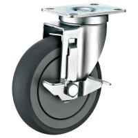 Buy cheap TPR Industrial Casters With Brakes , Large Industrial Grade Casters 3 from wholesalers