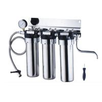 Buy cheap Stainless steel under sink water filter purifier with gauge from wholesalers