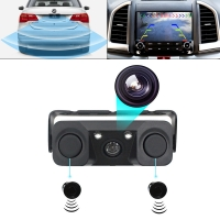 Buy cheap Car Reversing Aid Camera with Radar Sensor Parking System with screen from wholesalers