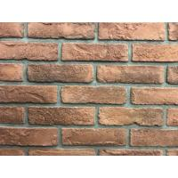 Buy cheap Antique Thin Veneer Outdoor Brick Tiles 200 X 50 X 18mm For Exterior Wall from Wholesalers