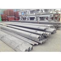 Buy cheap Construction Mild Steel Angle Iron Material with Hot Rolled Heating Technology from wholesalers