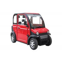 Buy cheap Red Lightweight Electric Car With 4 Seats Remote Control 60V 4KW 100-120 Km from wholesalers