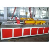 Buy cheap Faux Kitchen Plastic Profile Machinery Decorative Wood Plastic Production Line from wholesalers