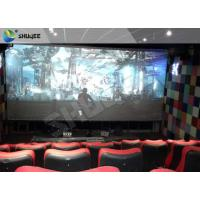 Buy cheap 4D Ride Simulator Electronic System 4D Movie Theater With All Special Effects product