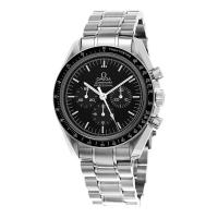Buy cheap Omega Watch Omega Men's watches 'Speedmaster Moonwatch' Black Dial Stainless Steel Chronog from wholesalers
