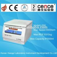 Buy cheap Desktop Low speed Large Capacity Cell culture lab Centrifuge(L550) from wholesalers