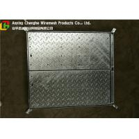 Buy cheap Galvanized Metal Driveway Drainage Grates , Hinge Stainless Steel Grates For Driveways from wholesalers