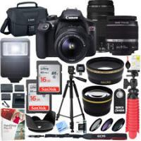 Buy cheap Cheap Canon EOS Rebel T6 DSLR Camera with 18-55mm IS II Lens + Professional Bundle from wholesalers
