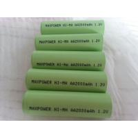 Buy cheap AA2000mAh NIMH Rechargeable Batteries 1000  Cycles IEC  CE UL  from wholesalers