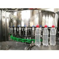 Buy cheap Rotary 3 In 1 Full Automatic Water Bottle Filling Machine Wih Suction Cap product