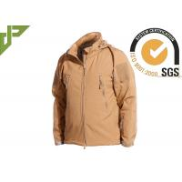 Buy cheap Khaki Military Tactical Jackets Polyester Soft Shell Waterproof for Women / Men from wholesalers