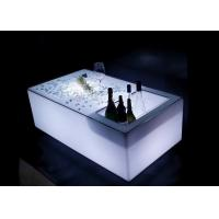 Buy cheap Modern Style LED Table Furniture Remote Controlled 50000 HRS Long Lifespan from wholesalers